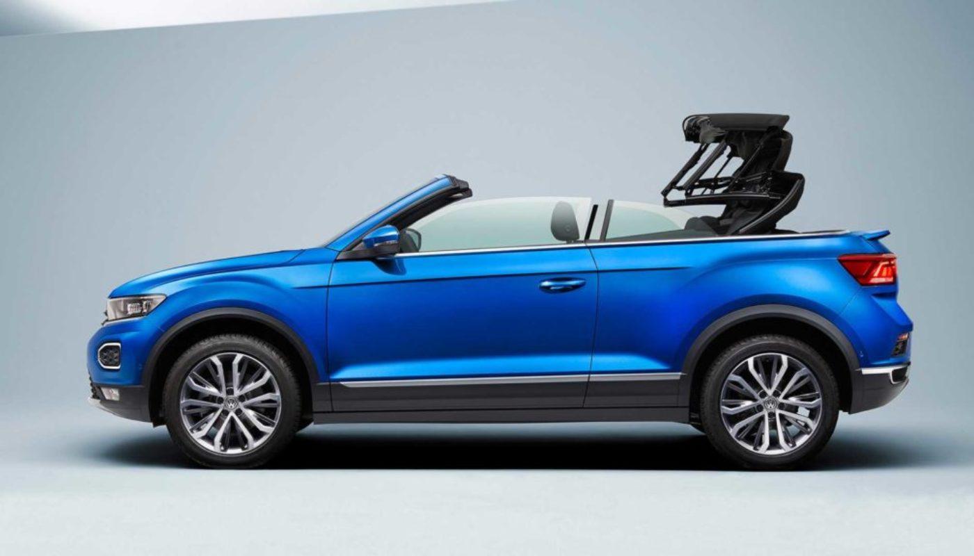 Najnowszy Volkswagen T-Roc Cabriolet
