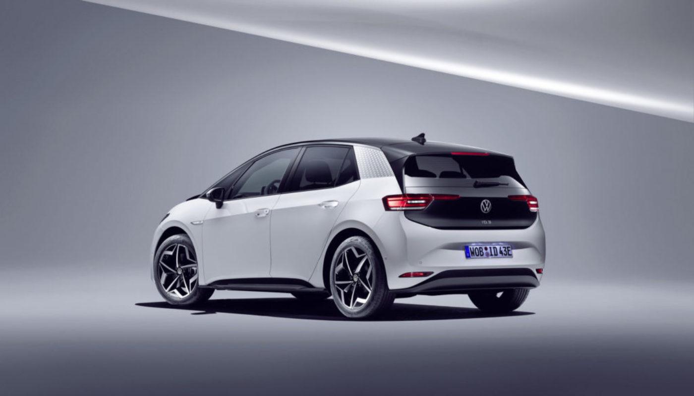 Volkswagen ID.3 elektryczny samochód