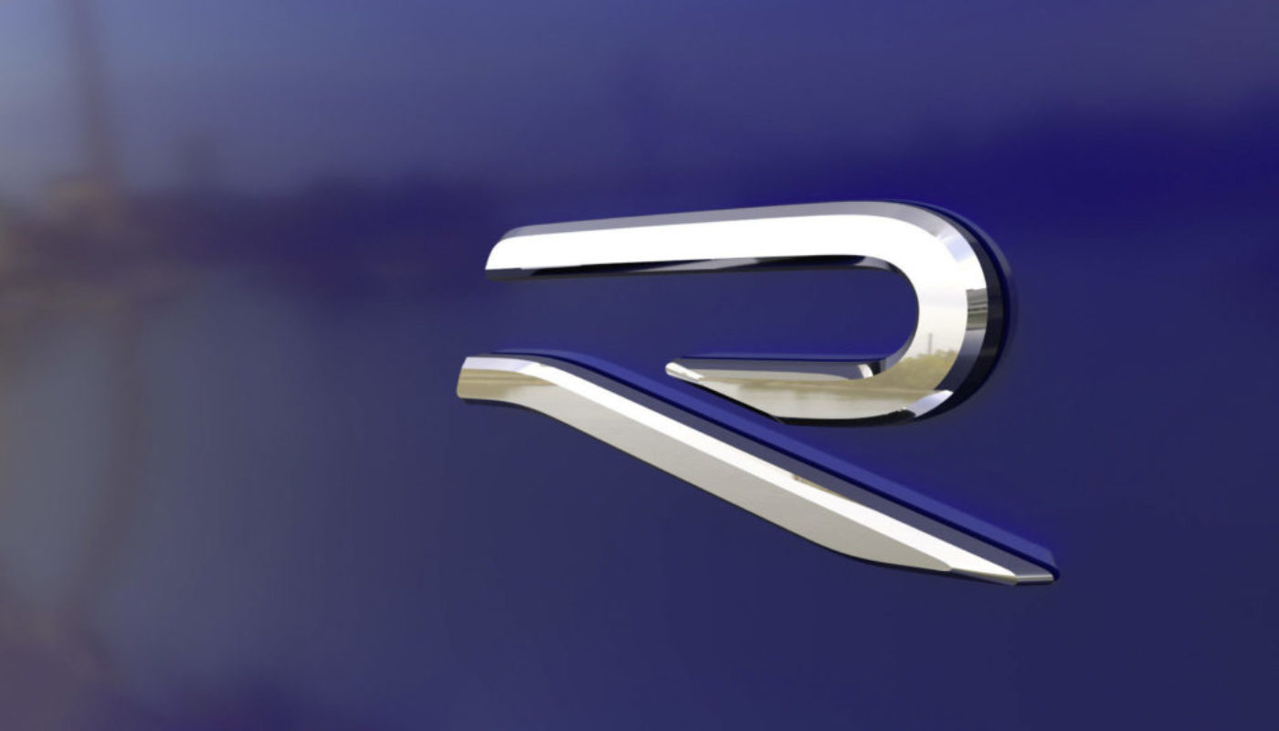 nowe logo sportowy volkswagen r