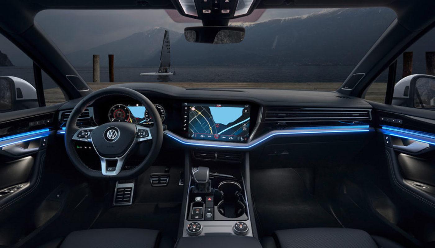 Volkswagen Touareg nagrodzony