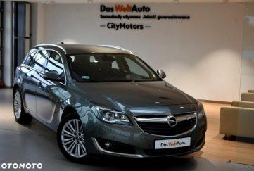 Opel Insignia 2.0CDTi Ecotec 170KM, Cosmo S&S, Faktura VWT23%, CityMotors VW